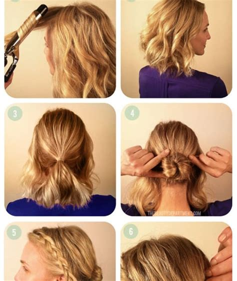 updos for short hair step by step step by step updos for short hair hair style and color