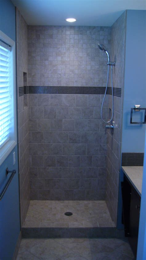bathroom shower stall ideas new tiled shower stall chandler building company