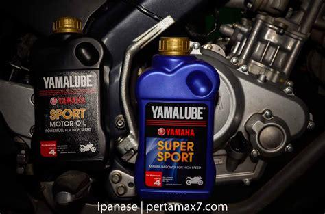Oli Yamaha Sport Pertamax7 Jadi Konsumen Pertama Uji Oli Yamalube