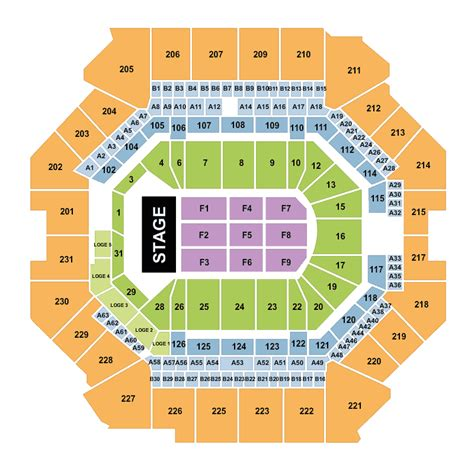 barclays center floor plan wwe summerslam concert barclays center brooklyn tickets
