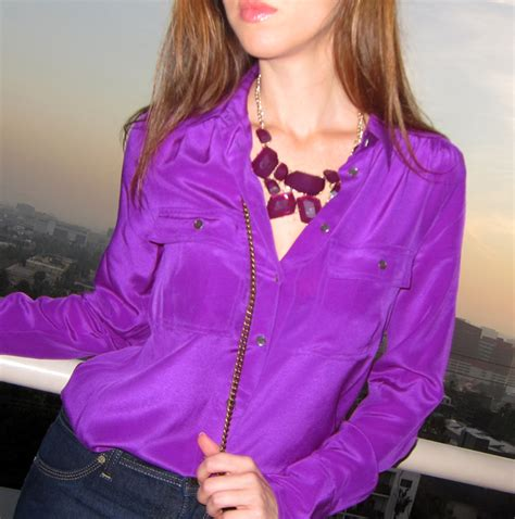 Ollan Blouse moda blusas 187 las mejores blusas moradas 4