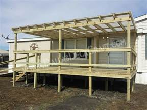 modular manufactured homes mobile home porches top 5 manufactured home deck designs