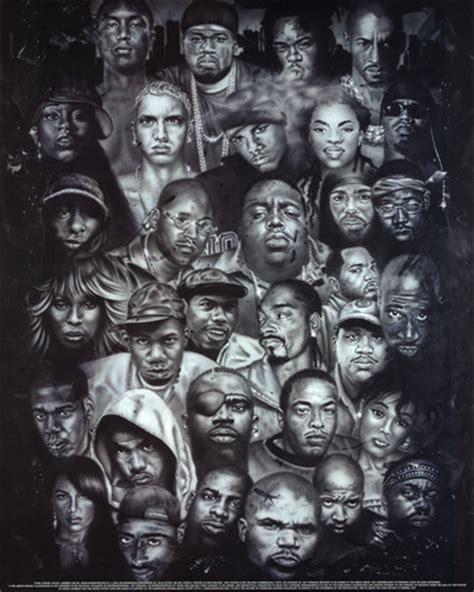 Scarface Wall Mural rap gods poster hip hop eminem biggie nelly jay z 2pac