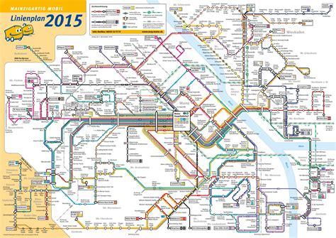 transport map mainz transport map