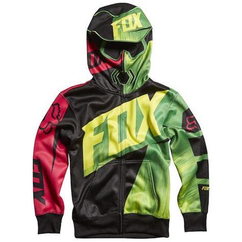 fox motocross hoodies black