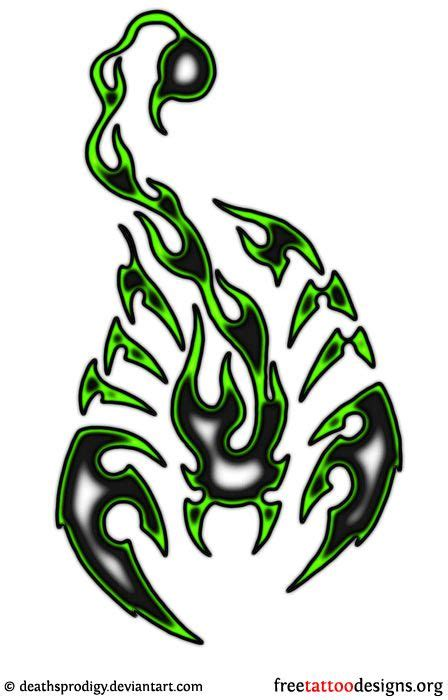 tribal scorpion tattoo designs the world s catalog of ideas