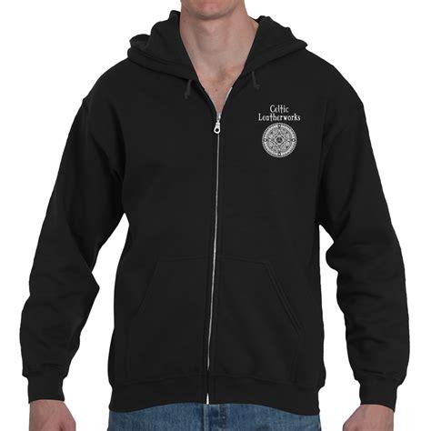hoodie design perth the perth targe zipper hoodie celtic leatherworks