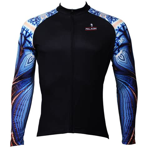 pattern bike jersey free shipping parrot pattern men long sleeve cycling
