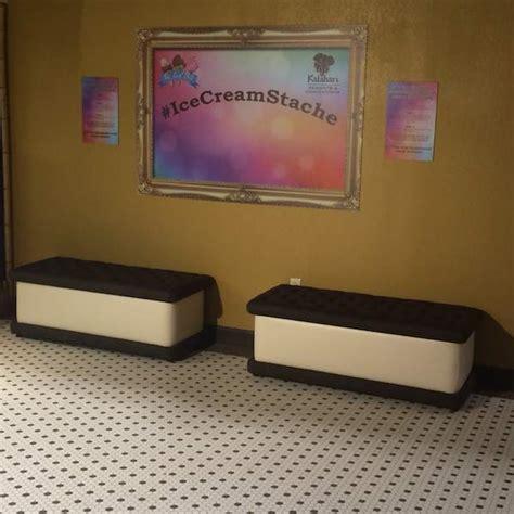 ice cream bench kalahari resort pocono mountains mccool travel