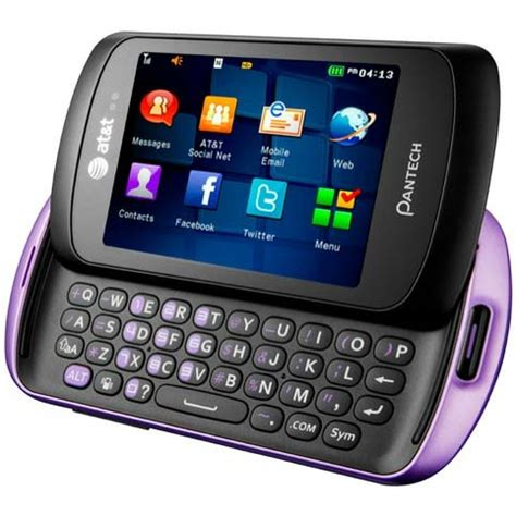 pantech swift 3g qwerty phone with touch screen arrives to