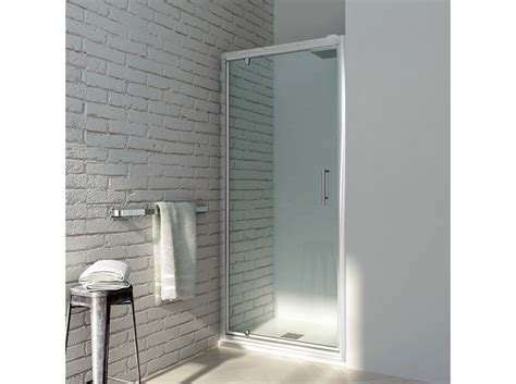 porta doccia girevole box doccia a nicchia con porte a battente ego girevole by
