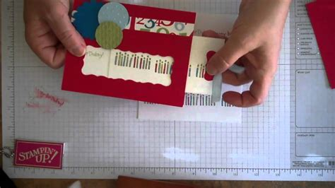 how to make pull out cards slide out birthday card with message