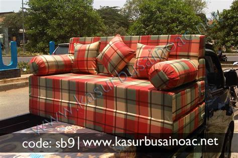 Sofa Bed Lipat 1 Pcs Bantal sofa bed motif cantik jual kasur busa inoac