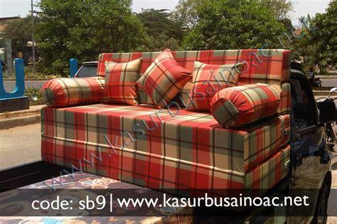 Sofabed Cantik sofa bed motif cantik jual kasur busa inoac