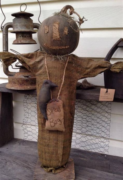 Primitive Handmade Crafts - 25 best ideas about primitive scarecrows on