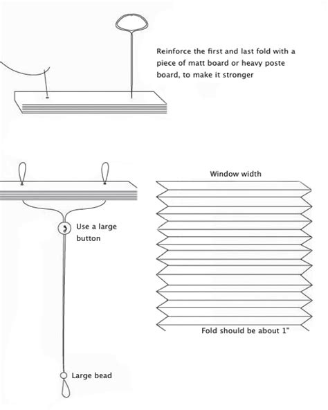 How To Make Temporary Paper - paper blinds how to make temporary pleated blinds
