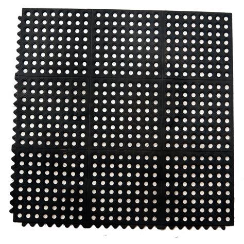 alfombra negra alfombra negra antifatiga de 36x36 pulgadas alfombras