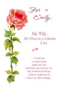 i m glad you re my wife greeting card anniversary