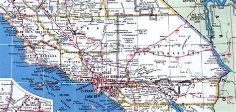 of southern california map southern california map