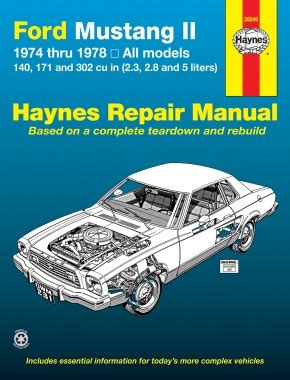 best auto repair manual 1983 ford mustang parental controls ford mustang ii 1974 1978 4 cylinder v6 v8 haynes repair manual haynes manuals