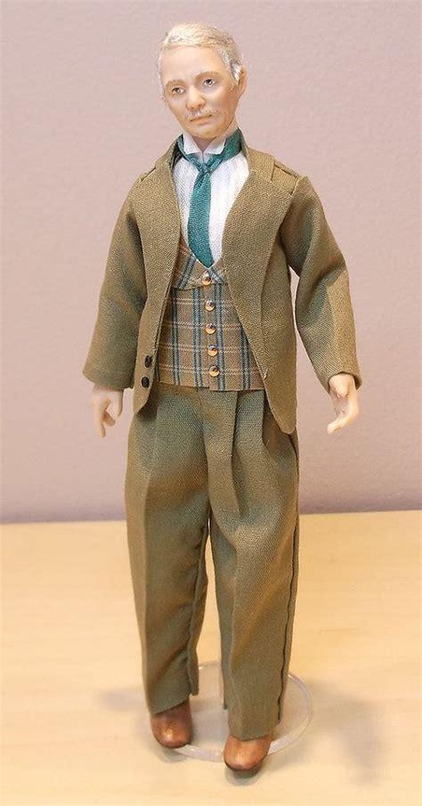 miniature dollhouse doll   scalevictorian