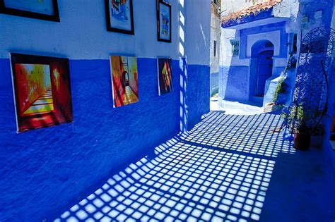 blue city morocco chair morocco s blue city bambis and mermaids