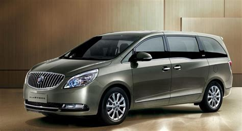 buick minivans all new buick gl8 minivan fully revealed only for china