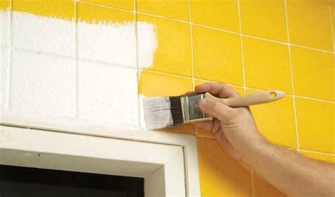 can you paint over bathroom wall tiles pintar azulejos facilisimo com