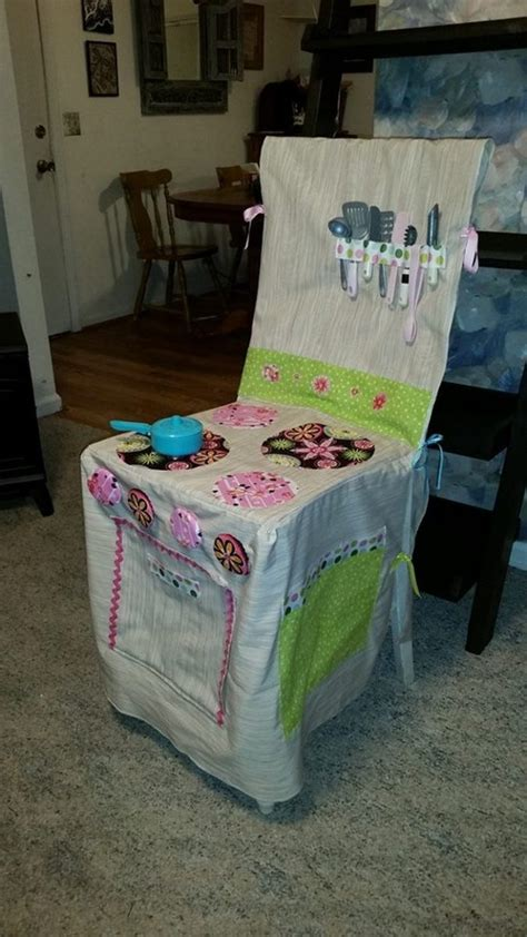 How to make a play kitchen slipcover   Craft projects for