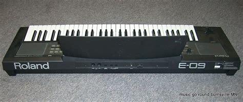 Roland E 09 Interactive Arranger Electronic Keyboard roland e 09 interactive arranger electronic keyboard reverb
