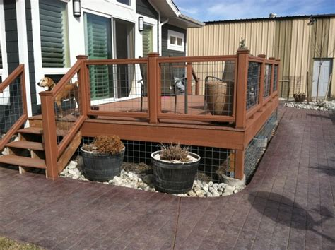 decks and patios rustic deck denver by dwyer construction company