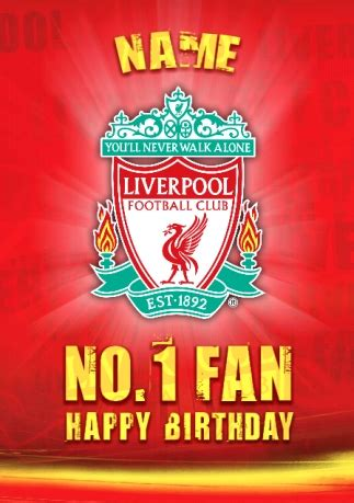 manchester united birthday card template liverpool fc club crest birthday card funky pigeon