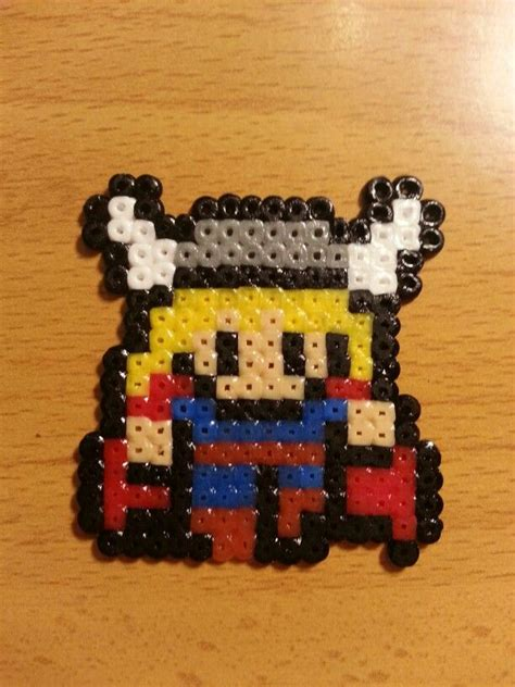 thor hama 17 best images about perler on minecraft