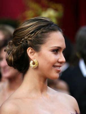 bridesmaid hairstyles jessica alba celebrity braided hairstyles 7beautytips