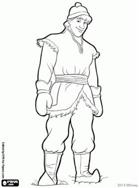 frozen coloring pages and kristoff family kristoff coloring page search kleurplaten