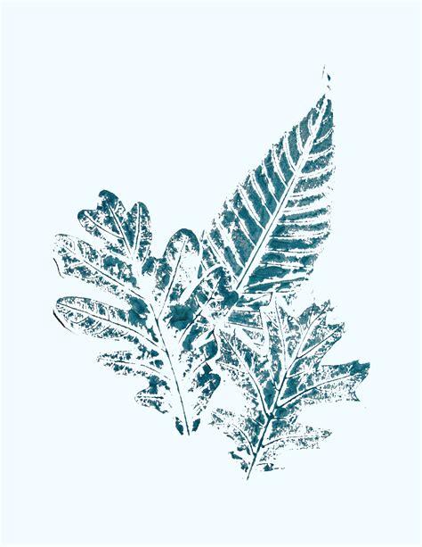 Leaf Print leaf print book summer c at home