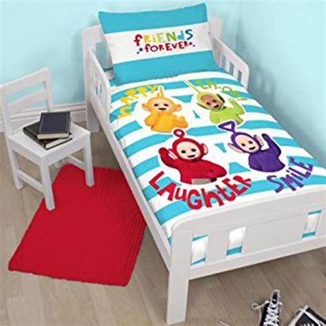 Bedding Sets For Cot Beds Teletubbies Playtime Junior Cot Bed Duvet Cover Set New Nursery Ebay