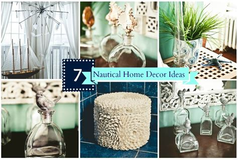 home decor beach theme simple and affordable nautical home decor ideas