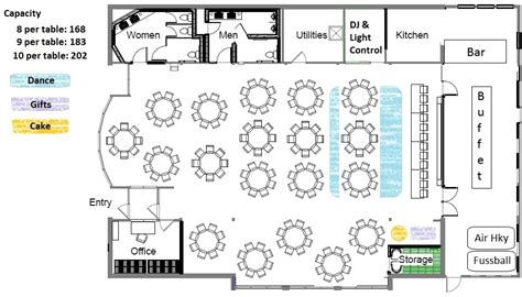 Banquet Hall Floor Plan | rosehenge banquet seating chart 175 jpg 945 215 540