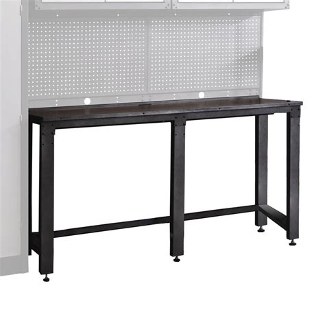 tool storage bench shop international tool storage 20 in w x 37 2 in h work bench at lowes com