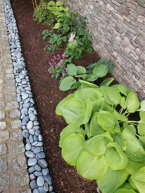 river rock garden edging ideas video