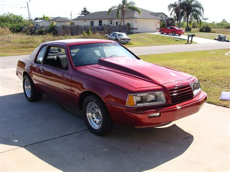 1986 Ford Thunderbird by 347thunder S 1986 Ford Thunderbird In Port St Fl