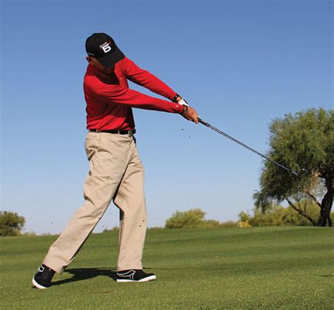 flat left wrist in golf swing 5 keys golf tips magazine