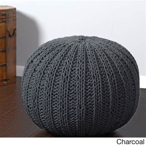 Cable Knit Ottoman 25 Best Ideas About Knitted Pouf On Knitted