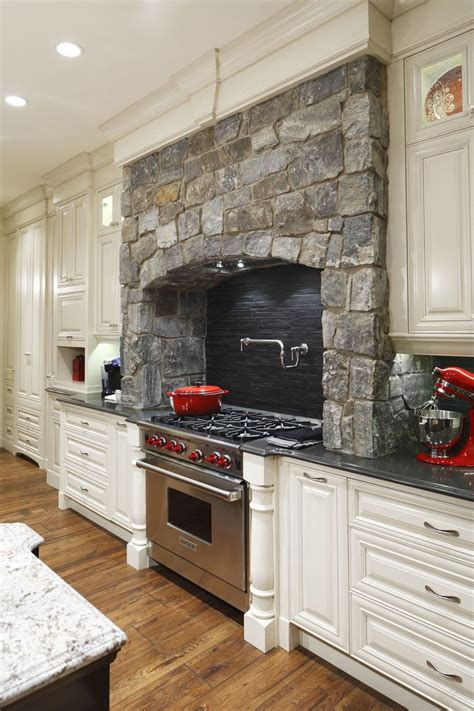 kitchen range ideas surrounds gas cooking stove in this traditional