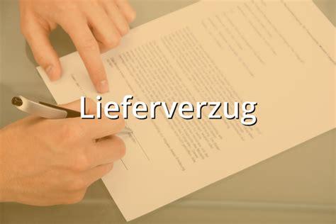 Lieferverzug Brief Schreiben musterbrief lieferverzug musterix