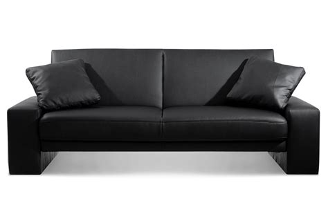black sofa having a black sofa in your living room