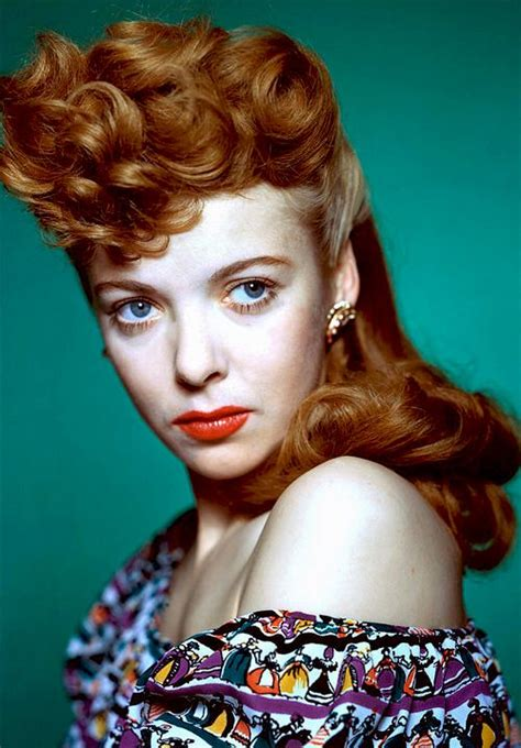 red head actress from 1940s 67 best beautiful redheads images on pinterest auburn