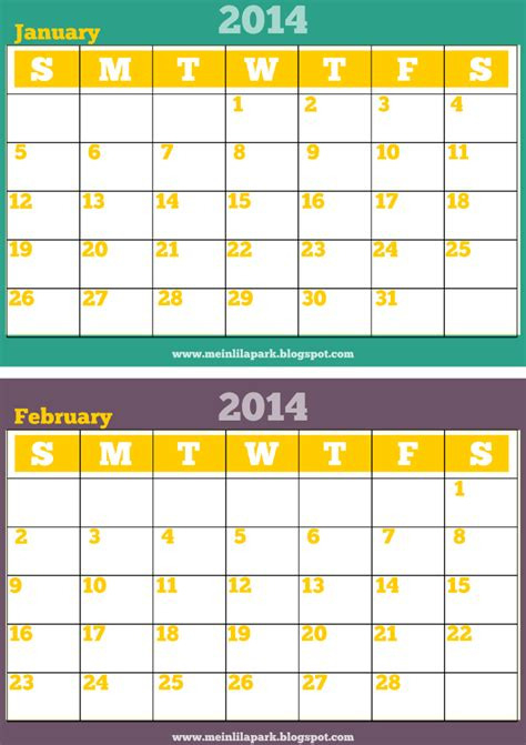 printable monthly planner 2014 free printable monthly 2014 calendar 2014 kalender