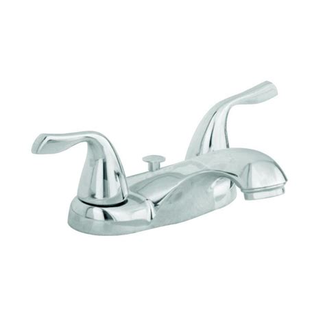 aquasource bathtub faucet shop aquasource chrome 2 handle 4 in centerset watersense